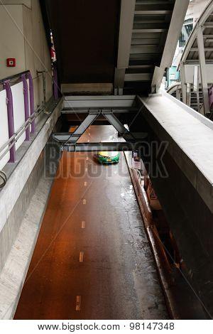 Daytime And Transportation In Bangkok City Thailand