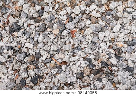 Stones Background. Closeup Of Stones Texture