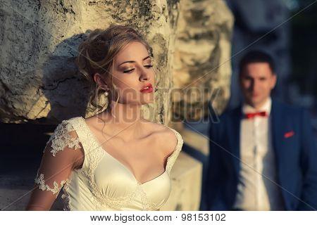 Sensual Bride And Man