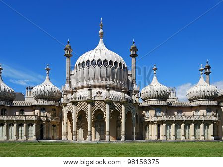 The Royal Pavilion, Brighton.