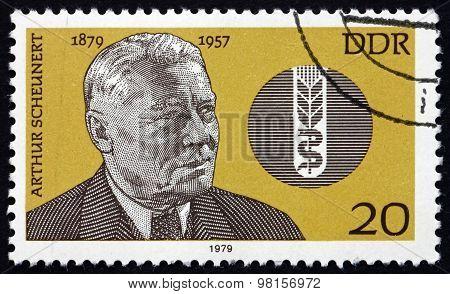 Postage Stamp Germany 1979 Carl Arthur Scheunert, Veterinary