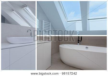 Bathroom In The Attic