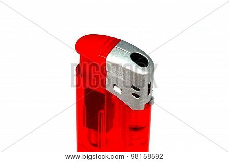 A red lighter