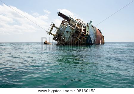 Shipwreck, Rusty Ship Wreck