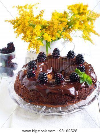 Blackberry Ring Cake