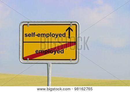 Sign Employed Self-employed