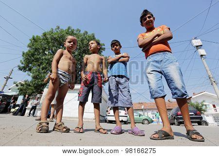 Gypsies Children Boys