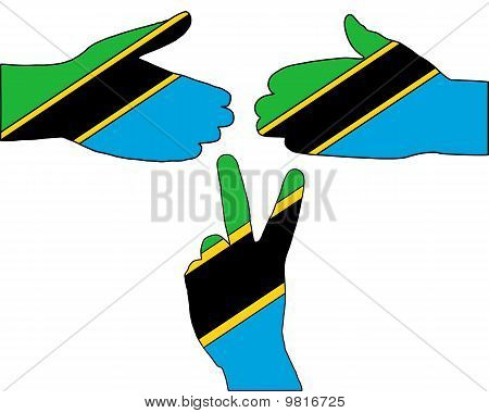 Hand Signal From Tansania