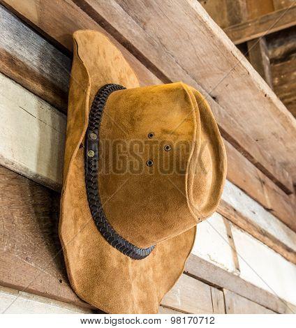 Close Up Cowboy Hat