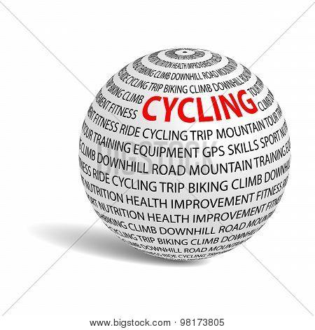 Cycling Word Ball