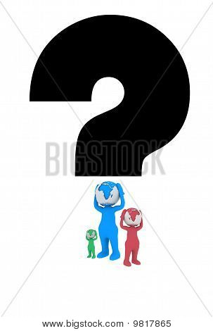 Question With Three People