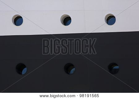 Portholes Windows Ship Side