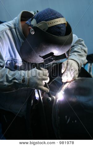 Welder At Work 7