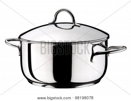 Steel Pot With Lid