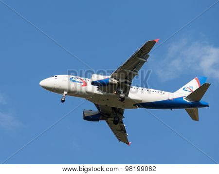 Airbas A319 Aircraft Ural Airlines