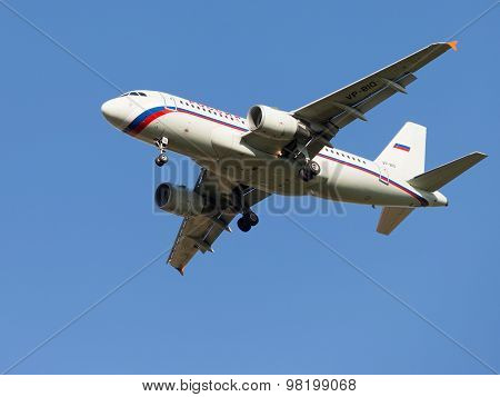 Airbus A319, Russia