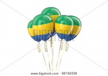 Gabonese Republic Balloons Holyday Concept