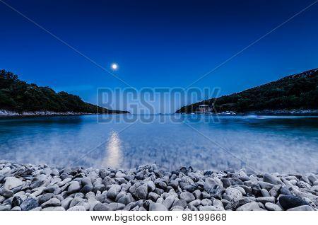 Beach In Dusk