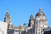 Постер, плакат: The Three Graces Liverpool