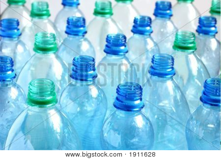 Empty Water Bottles