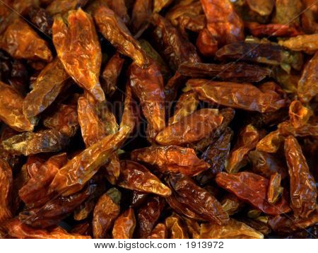 Dessicated Hot Peppers