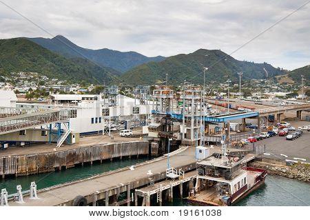 Port Of Picton - New Zealand