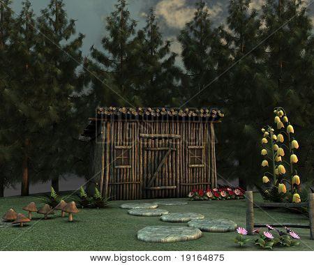 Fairytale Stick House