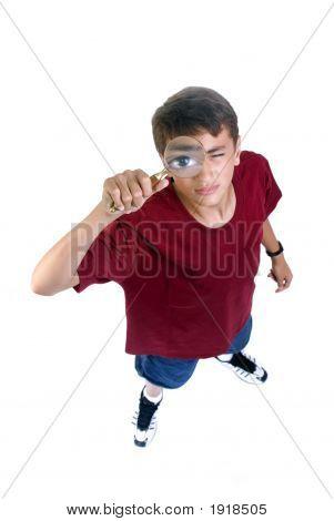 Teenage Boy Exploring