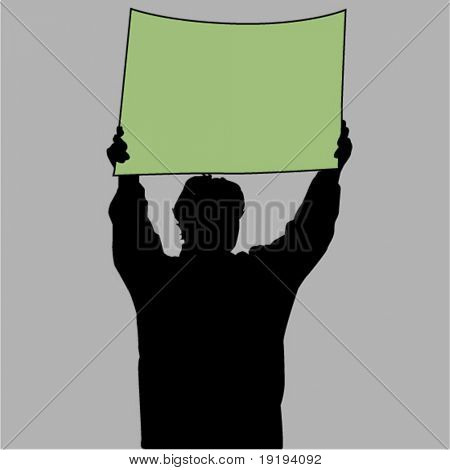 protestor