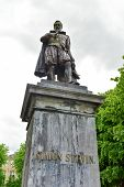 Simon Stevin Monument - Bruges, Belgium poster
