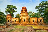 Постер, плакат: Храм в джунглях Ангкор Камбоджа