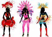 Carnival Silhouettes 3 poster