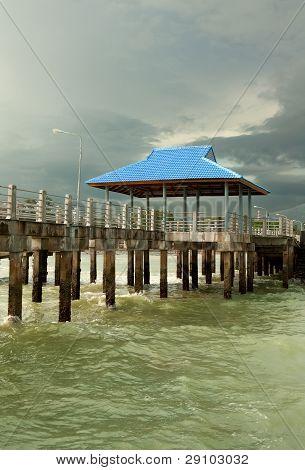 Pier On Piles