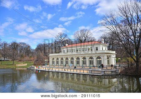 The Prospect Park Boathouse, Brooklyn, USA