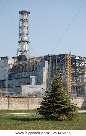 Chernobyl Atomkraftwerk. Kiew. Ukraine.