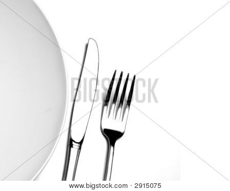 Plate Fork Knife