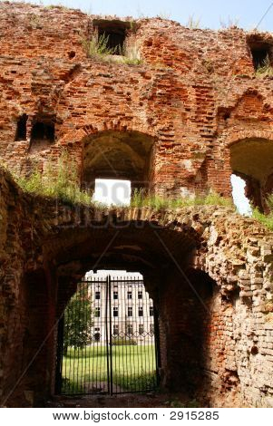 innen alten Schloss in Memel Preußen