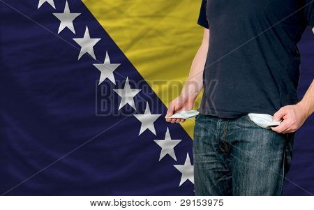 Recession Impact On Young Man And Society In Bosnia Herzegovina