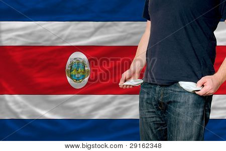 Recession Impact On Young Man And Society In Costa Rica