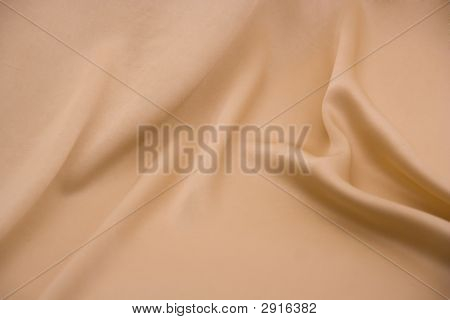 Beige Material With Folds
