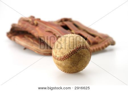 Old Ball And Glove
