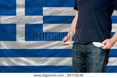Recession Impact On Young Man And Society In Greece