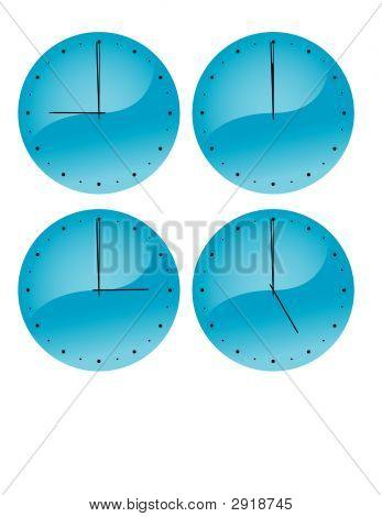 Clockfaces (Vector)