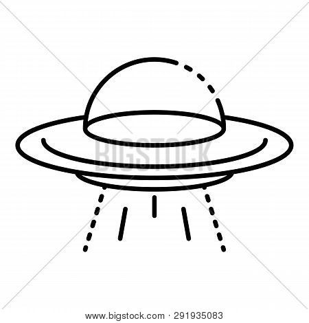 Ufo Icon Outline Ufo Icon
