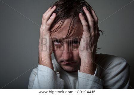 Depressive  Man