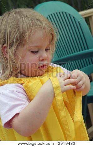 Girl In Life Vest