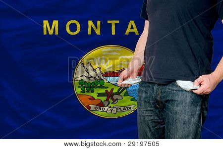 Recession Impact On Young Man And Society In American State Of Montana