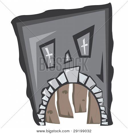 Sad Monster House