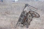 stock photo of vinnitsa  - Old Russian horse cart - JPG