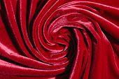Red Velvet Background.velvet Texture. Vinyl Background.flat Lay. poster